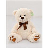Medvedík sediaci krémový, 40 cm