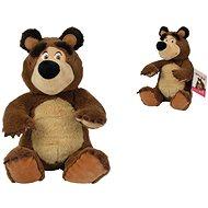 Simba Máša a medveď Plyšový medveď 20 cm, sediaci