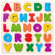 Woody Puzzle ABC – písmená na doske - Puzzle