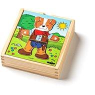 """Woody Puzzle šatníková skriňa """"Psík"""", 18 dielov - Puzzle"""