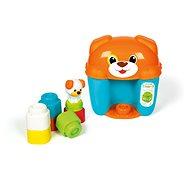 Clementoni Clemmy baby - kýblik s kockami psík - Hračka pre najmenších