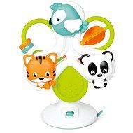 Clementoni Baby interaktívny volant - kolotoč so zvieratkami - Hračka pre najmenších