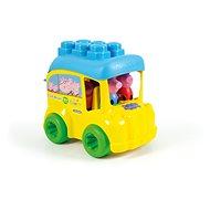 Hračka pre najmenších Clementoni Clemmy baby - Peppa Pig - školský autobus
