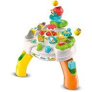 Hračka pre najmenších Clementoni Clemmy baby - Veselý hrací stolík s kockami a zvieratkami