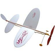 Lietadlo Komár, hádzací model na gumu - Hádzadlo