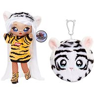 Na! Na! Na! Surprise Bábika v plyšovom zvieratku 2 v 1, séria 4 - Bianca Bengal - Bábika