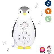 ZAZU - Tučniak ZOE sivý - MusicBox s bezdrôtovým reproduktorom