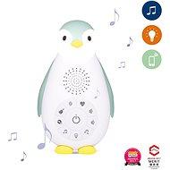 ZAZU - Tučniak ZOE modrý - MusicBox s bezdrôtovým reproduktorom
