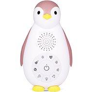 ZAZU - Tučniak ZOE ružový - musicbox s bezdrôtovým reproduktorom