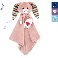 ZAZU - Rabbit BECKY - Whistling Comforter with Heartbeat and Melodies - Baby Toy