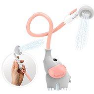 Yookidoo - Detská sprcha slon - sivoružová - Hračka do vody