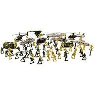 Figúrky Teddies Sada vojaci s doplnkami CZ dizajn