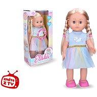 Wiky Eliška chodiaca bábika modrá