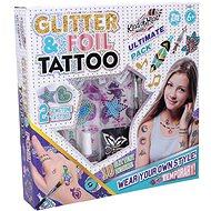 Wiky Tetovanie s trblietkami - Skrášľovacia súprava