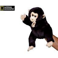 National Geographic maňuška Šimpanz 26 cm - Maňuška