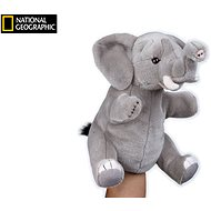 National Geographic maňuška Slon 26 cm - Maňuška