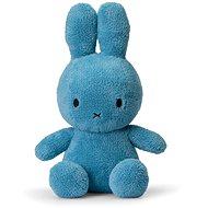 Miffy Sitting Terry Ocean Blue 33 cm - Plyšová hračka