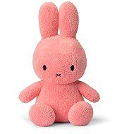 Miffy Sitting Terry Pink 33 cm - Plyšová hračka