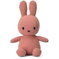 Miffy Sitting Mousseline Pink 23 cm - Plyšová hračka