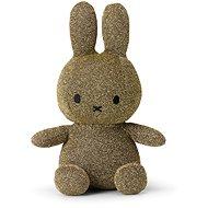 Miffy Sitting Sparkle Gold 23 cm - Plyšová hračka