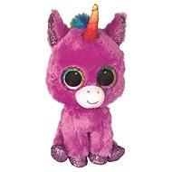 BOOS ROSETTE, 15 cm - fialový jednorožec - Plyšová hračka
