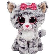 BOOS KIKI, 42 cm - sivá mačka - Plyšová hračka