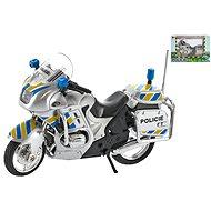 Motorka policajná 12 cm kov na voľný chod - Detská elektrická motorka