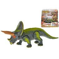 Triceratops 23 cm na batérie so svetlom - Figúrka
