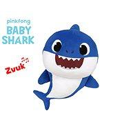 Baby Shark Spandex 27 cm plyšový na batérie so zvukom modrý 0m+ vo vrecku