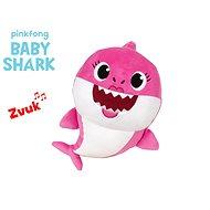 Baby Shark Spandex 27 cm plyšový na batérie so zvukom ružový 0m+ vo vrecku