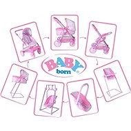 Baby Born Rozkladací kočík Baby Born - Kočík pre bábiky