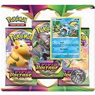 Pokémon TCG: SWSH04 Vivid Voltage – 3 Blister Booster - Kartová hra