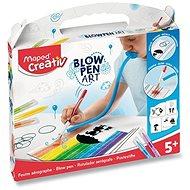 Súprava Maped Blowpen – String'Art - Maľovanie pre deti