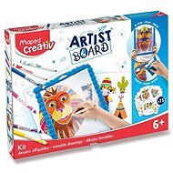 Súprava Maped Artist Board – Transparentná tabuľa na kreslenie - Maľovanie pre deti
