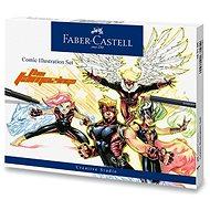 Popisovače Faber-Castell Comic Illustration, sada 15 ks - Popisovač