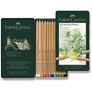 Pastelky Faber-Castell Pitt Pastell v plechovej krabičke, 12 farieb - Pastelky