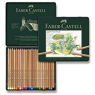 Pastelky Faber-Castell Pitt Pastell v plechovej krabičke, 24 farieb - Pastelky