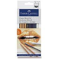 Sada Faber-Castell Classic Sketch, 6 ks - Výtvarné potreby