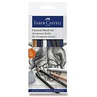 Sada Faber-Castell Charcoal Sketch, 7 ks - Výtvarné potreby