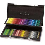 Pastelky Faber-Castell Polychromos, 120 farieb, drevená kazeta - Pastelky