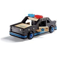 Stanley Jr. K096-SY Stavebnica, policajné auto, drevo - Stavebnica