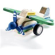 Stanley Jr. JK029-SY Stavebnica, lietadlo, drevo - Stavebnica