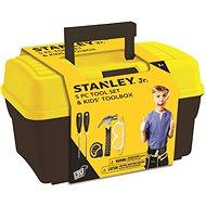 Stanley Jr.TBS001-05-SY, dětské nářadí, 5 ks, žluto-černé - Sada