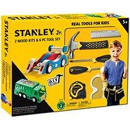 Stanley Jr.U003-K02-T06-SY Sada 2 ks autíček a 5 kusů nářadí.
