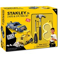 Stanley Jr.U004-K02-T03-SY Sada obsahuje autičko, bagr a 3 kusů nářadí. - Detské náradie