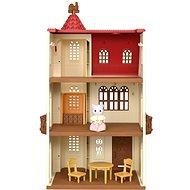Sylvanian families Dom s vežou a červenou strechou