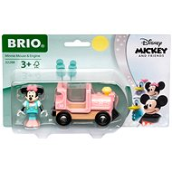 Brio World 32288 Disney and Friends Lokomotíva Myšky Minnie - Vláčik