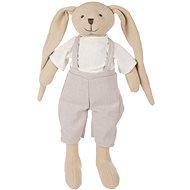 Canpol babies Zajačik Bunny béžový - Plyšová hračka
