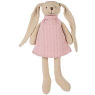 Canpol babies Zajačik Bunny ružový - Plyšová hračka