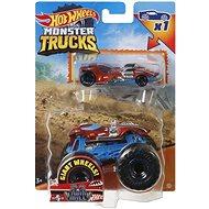 Hot Wheels Moster Trucks 1:64 s angličákom - Auto
